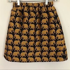 Dresses & Skirts - Gold elephant skirt